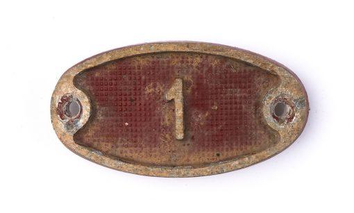 Schnalle Aluminium Original Nr. 1-0