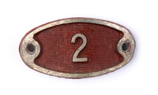 Schnalle Aluminium Original Nr. 2-0