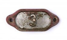 Schnalle Aluminium Original Nr. 3-0