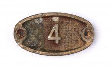 Schnalle Aluminium Original Nr. 4-0