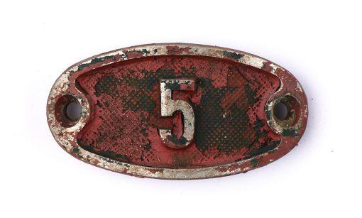 Schnalle Aluminium Original Nr. 5-0