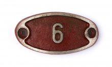 Schnalle Aluminium Original Nr. 6-0
