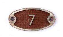 Schnalle Aluminium Original Nr. 7-0