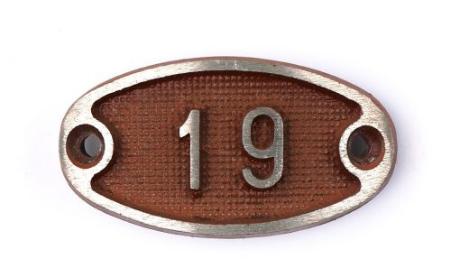 Schnalle Aluminium Original Nr. 19-0