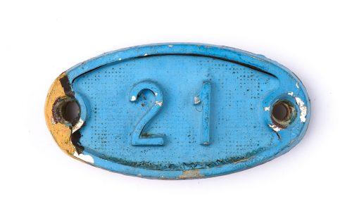 Schnalle Aluminium Original Nr. 21-0