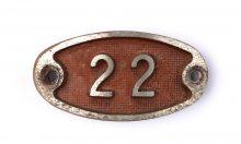 Schnalle Aluminium Original Nr. 22-0