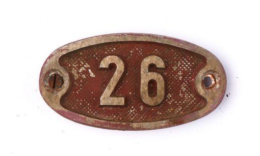 Schnalle Aluminium Original Nr. 26-0