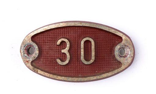 Schnalle Aluminium Original Nr. 30-0