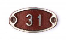 Schnalle Aluminium Original Nr. 31-0