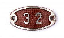 Schnalle Aluminium Original Nr. 32-0