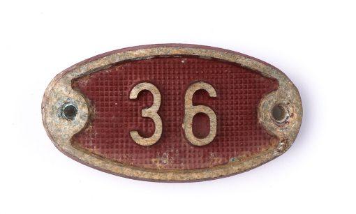 Schnalle Aluminium Original Nr. 36-0