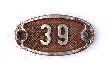 Schnalle Aluminium Original Nr. 39-0