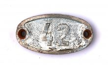 Schnalle Aluminium Original Nr. 42-0