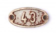 Schnalle Aluminium Original Nr. 43-0