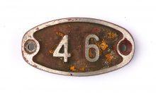 Schnalle Aluminium Original Nr. 46-0