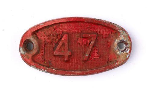 Schnalle Aluminium Original Nr. 47-0