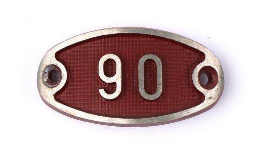 Schnalle Aluminium Original Nr. 90-0