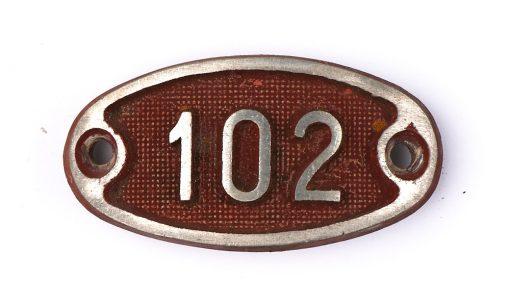 Schnalle Aluminium Original Nr. 102-0