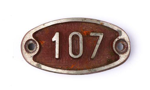 Schnalle Aluminium Original Nr. 107-0