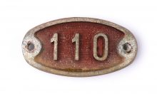 Schnalle Aluminium Original Nr. 110-0