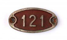 Schnalle Aluminium Original Nr. 121-0