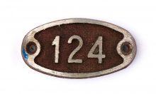 Schnalle Aluminium Original Nr. 124-0