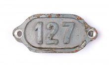 Schnalle Aluminium Original Nr. 127-0