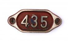 Schnalle Aluminium Original Nr. 435-0