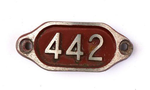 Schnalle Aluminium Original Nr. 442-0