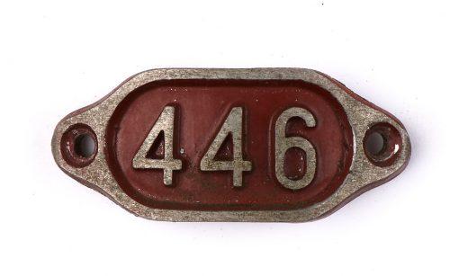 Schnalle Aluminium Original Nr. 446-0