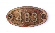 Schnalle Aluminium Original Nr. 483-0