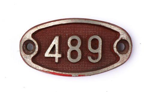 Schnalle Aluminium Original Nr. 489-0