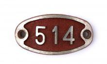 Schnalle Aluminium Original Nr. 514-0