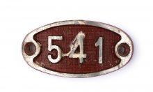 Schnalle Aluminium Original Nr. 541-0