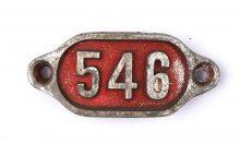 Schnalle Aluminium Original Nr. 546-0
