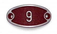 Schnalle Aluminium Fire Rot Nr. 9-0