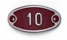 Schnalle Aluminium Fire Rot Nr. 10-0