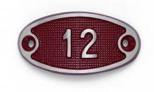 Schnalle Aluminium Fire Rot Nr. 12-0