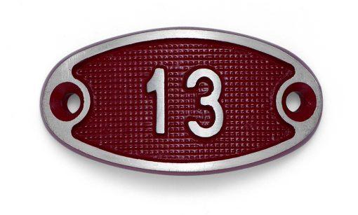 Schnalle Aluminium Fire Rot Nr. 13-0