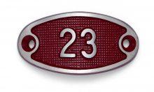 Schnalle Aluminium Fire Rot Nr. 23-0