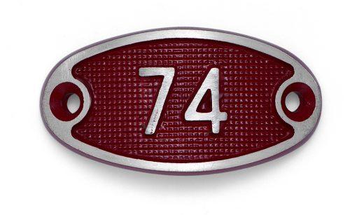 Schnalle Aluminium Fire Rot Nr. 74-0