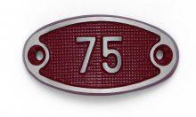 Schnalle Aluminium Fire Rot Nr. 75-0
