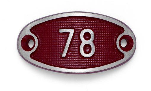 Schnalle Aluminium Fire Rot Nr. 78-0