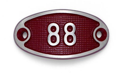 Schnalle Aluminium Fire Rot Nr. 88-0