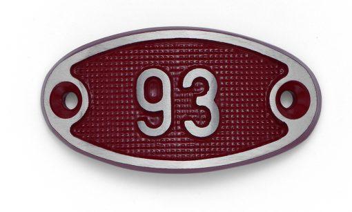 Schnalle Aluminium Fire Rot Nr. 93-0