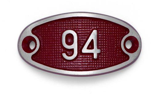 Schnalle Aluminium Fire Rot Nr. 94-0
