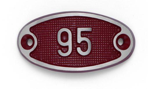 Schnalle Aluminium Fire Rot Nr. 95-0
