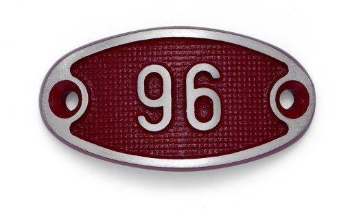Schnalle Aluminium Fire Rot Nr. 96-0