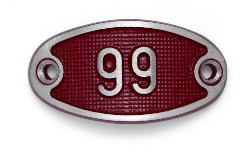 Schnalle Aluminium Fire Rot Nr. 99-0