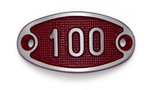 Schnalle Aluminium Fire Rot Nr. 100-0